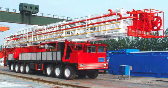 TRUCK‐MOUNTED DRILLING RIG